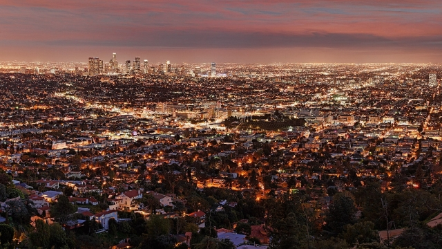 Los Angeles From Above in 4k
