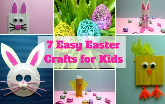 7 Easter Craft Ideas for Kids