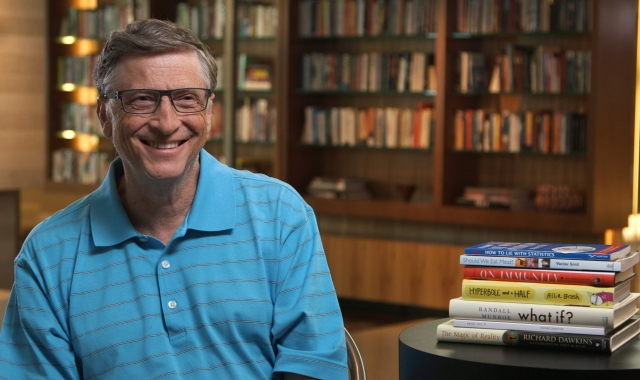 Bill Gates Talks about What Books to Read