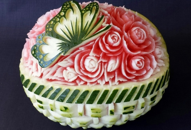 Fruit and Vegetable Carving - People With Amazing Talent