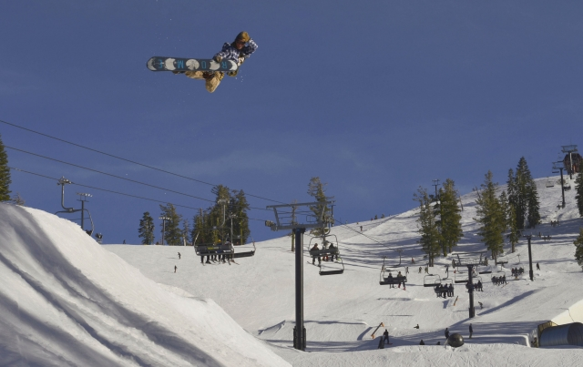 Park Sessions Woodward at Tahoe - TransWorld SNOWboarding