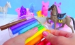 Rainbow Clay Pony + Horse DIY Crafts
